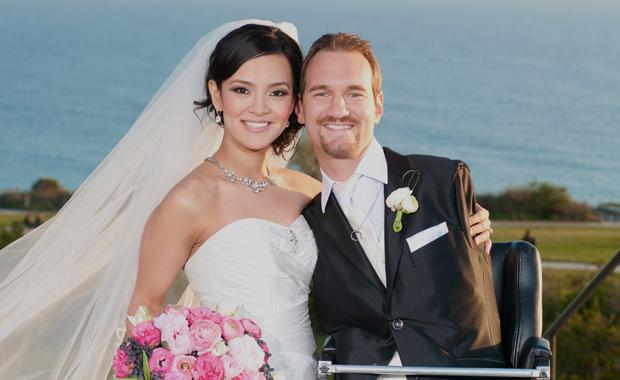 Nick Vujicic mariage