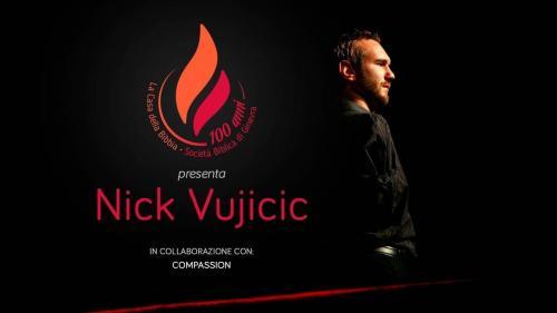 Conférence Nick Vujicic Bienne 2017