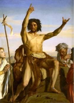 Le saint Jean-Baptiste de Cabanel