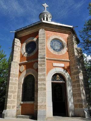 La chapelle du Précieux-Sang, lieu des apparitions du Christ crucifié