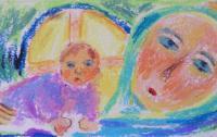 Marie avec l'Enfant Jésus