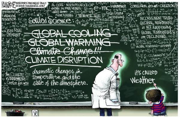 Cela s'appelle le climat