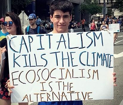 Le capitalisme tue le climat ; l'écosocialisme est l'alternative